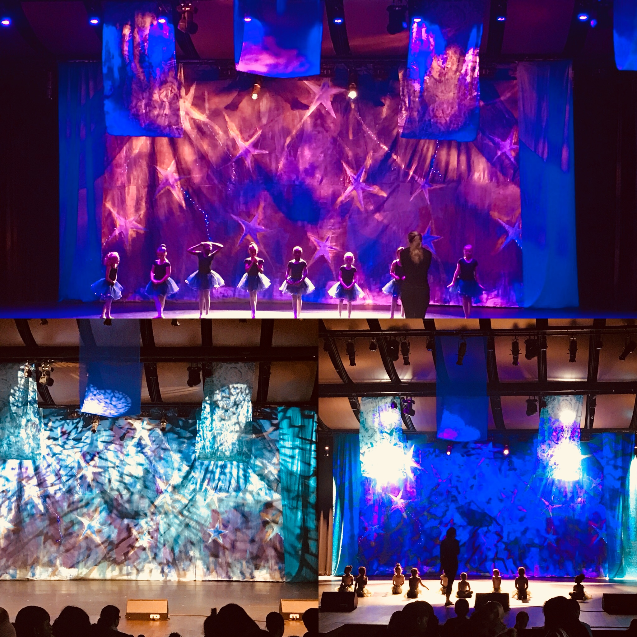 Set design for the Greater Atlanta Christian School Nativity Ballet