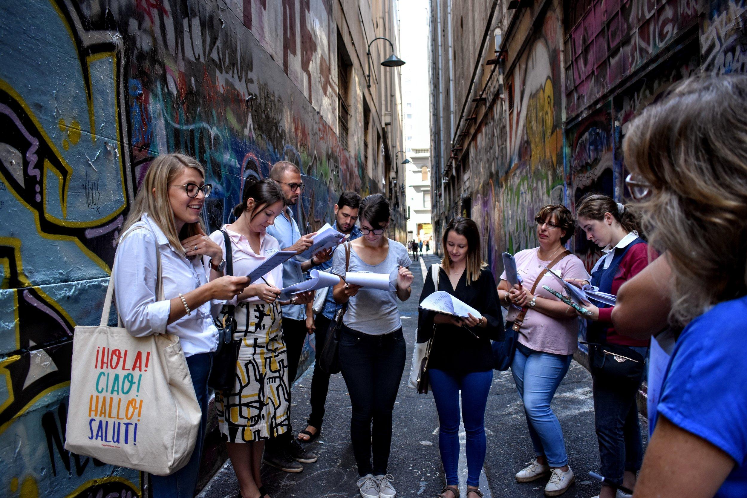 WALKshop Laneways & Arcades Melbourne