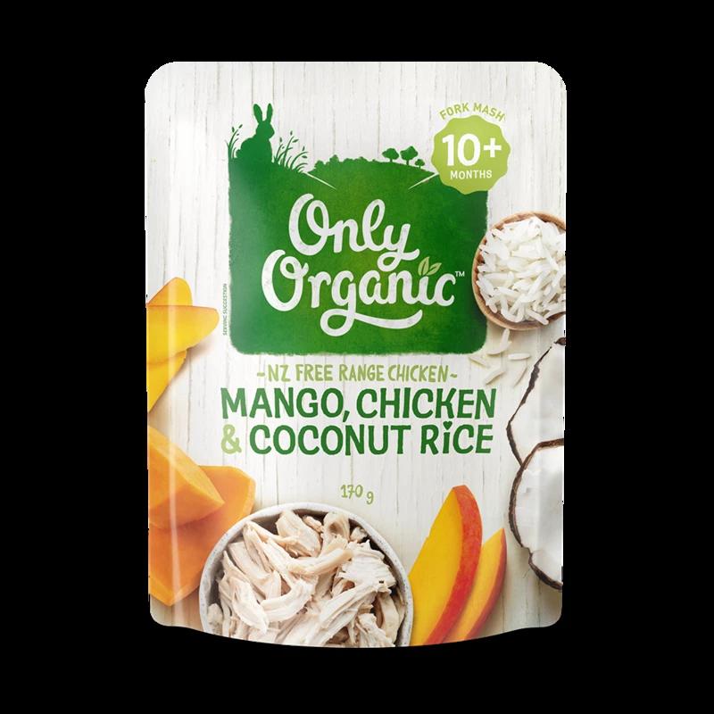 Mango Chicken & Coconut Rice