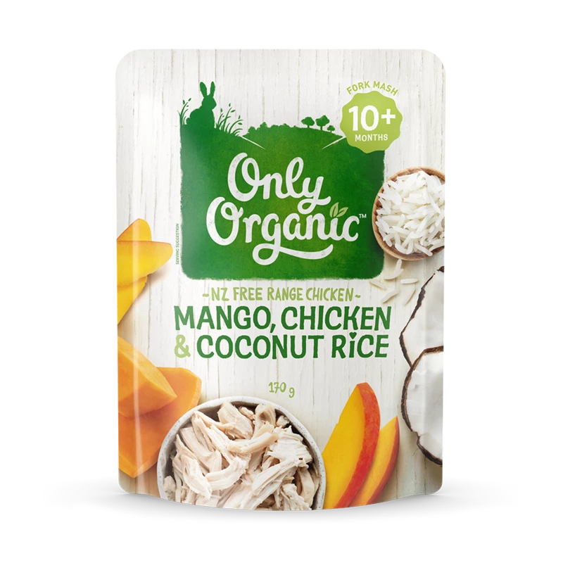 Mango, Chicken & Coconut Rice