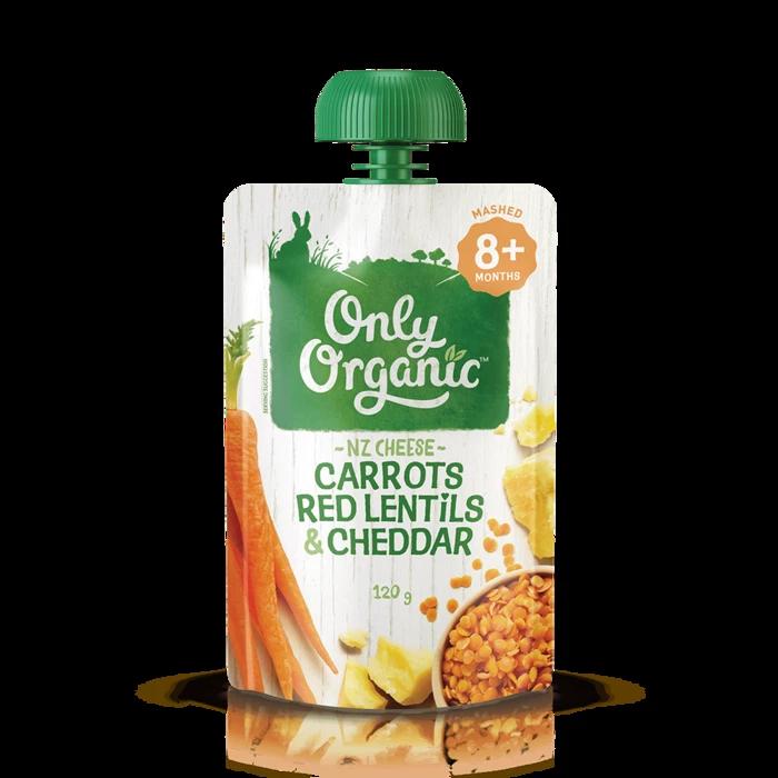 Carrots Red Lentils & Cheddar