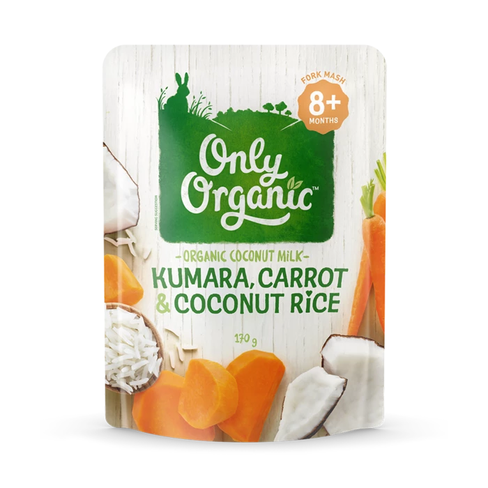 Kumara Carrot & Coconut Rice