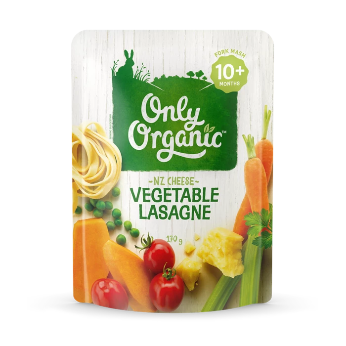 Only Organic vegetable lasagne 170g