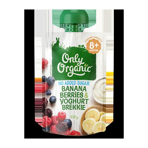 Banana Berries & Yoghurt Brekkie
