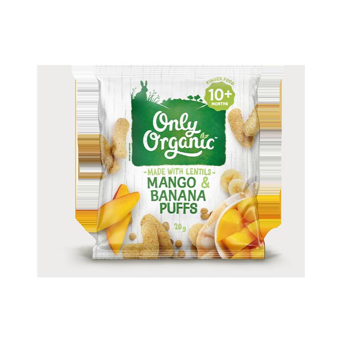 Mango & Banana Puffs