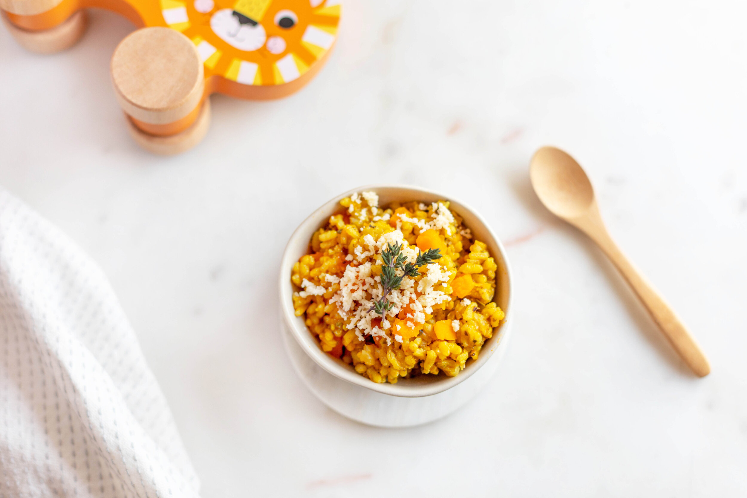 Winter Pumpkin Risotto