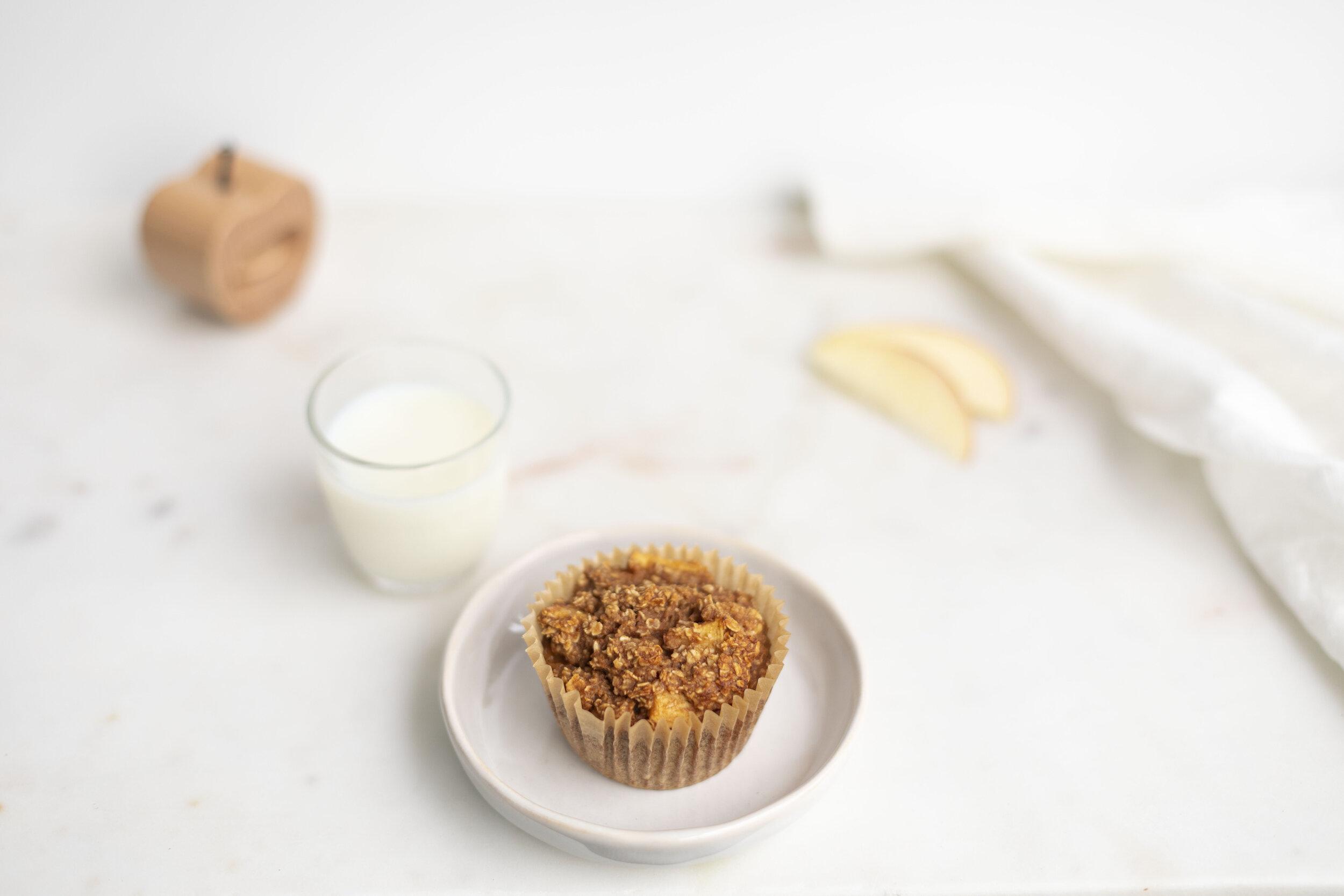 Apple Cinnamon Oatie Cups