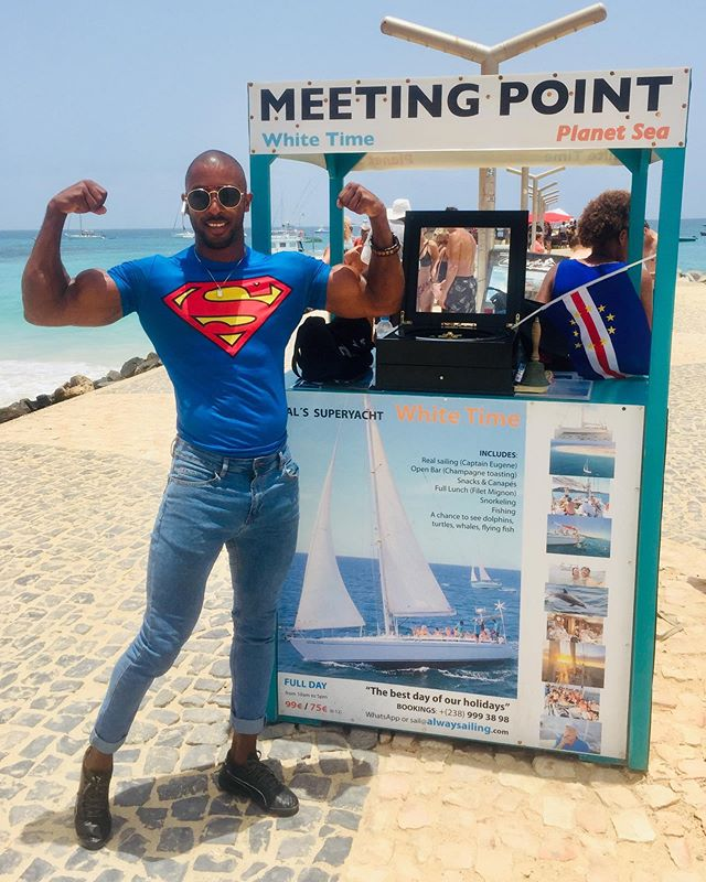 Our meeting point at the pier, the most Supernatural place in Santa Maria 🇨🇻🧞‍♂️🙏💪🏾🦹🏽‍♂️ #caboverde #Superman #surprise #supernatural #superpier #supermeeting #meetingpoint #santamariapier #santamaria #supersailing #superfriends #super #supersal #alwaysailing #alwaysuper #supersalvador