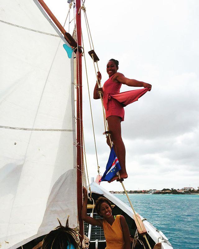 @janiciadias graceful beauty on our NEW Unique Supernatural motorsailer 💃 #climbinggirl #pinkdress #hostess #supernatural #instaclimb #mast #beautifuldress #beautifulgirl #bespoke #boat #unique #boat #motorsailer #beauty #ocean #african #northafrica #sailorwoman #strongwomen #workingwomanwednesday #supernaturallove #africanwoman #proud #graceful #sails #best #prettydress #uniquetours #s #always #alwaysailing