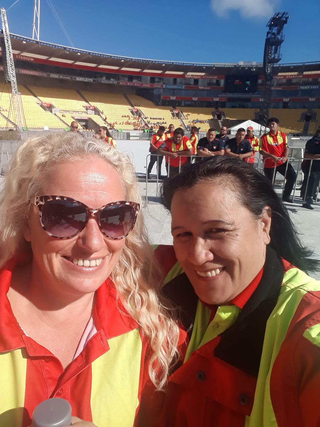 "The company other Security Companies turn to - First Contact provided over 40 specialist barrier crew for the Eminem concert at Westpac Stadium, February 2019.In addition to barrier staff we provided Executive Drivers, Back of House, and Hotel security for this event.Thanks NiCola and Donna, I know you were in their uniform but you were part of an amazing First Contact team who (according to the promoter) ""did a spectacular job""."