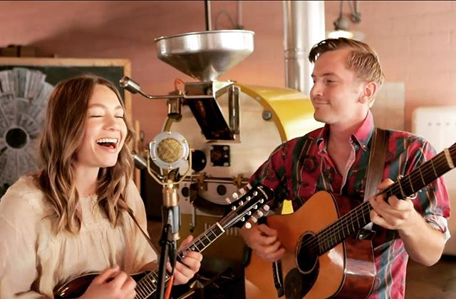 Tune in tomorrow for a new video by the Tiny Town Concert Series inside @hobokencoffee!