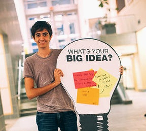 BIG IDEA COMPETITION - The Big Idea Competition is for anyone regardless of major, who has great ideas but doesn't know what to do with them. The idea can be formed by a team or by individuals. If you have ideas that are important and impactful and you want to share it with the world, this is the perfect opportunity to pitch it to the public and win up to $9000 in prizes. The competition is held in April every year and all application are due by the end of February.