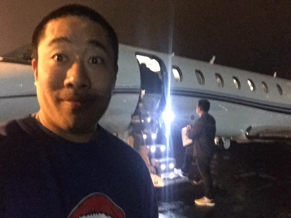 Getting on a Private Jet with Steph Curry to film a private event!