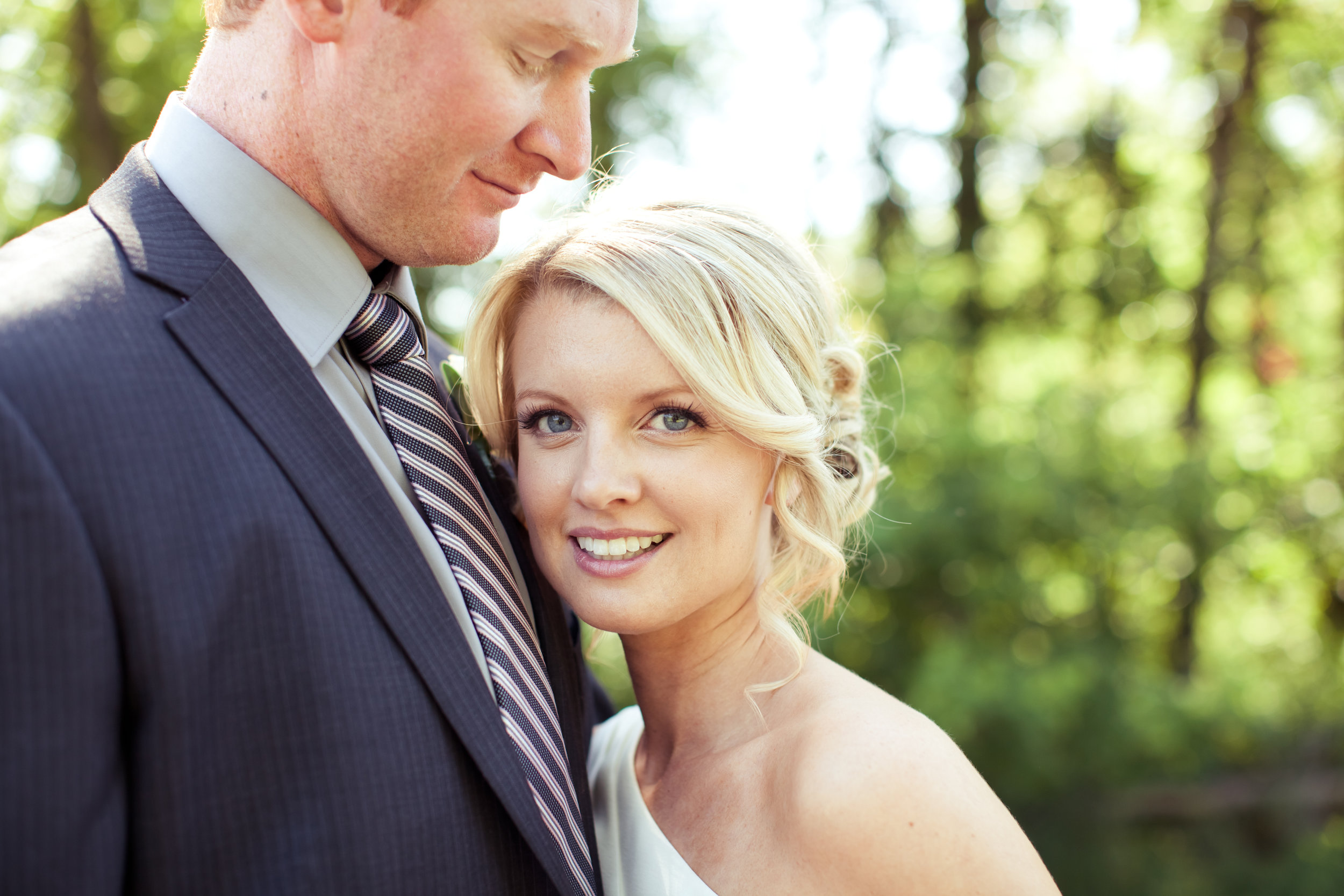 What a beautiful bride…inside & out. Meghan wanted a classic, timeless, fresh look with the emphasis on long, soft fluttery lashes.