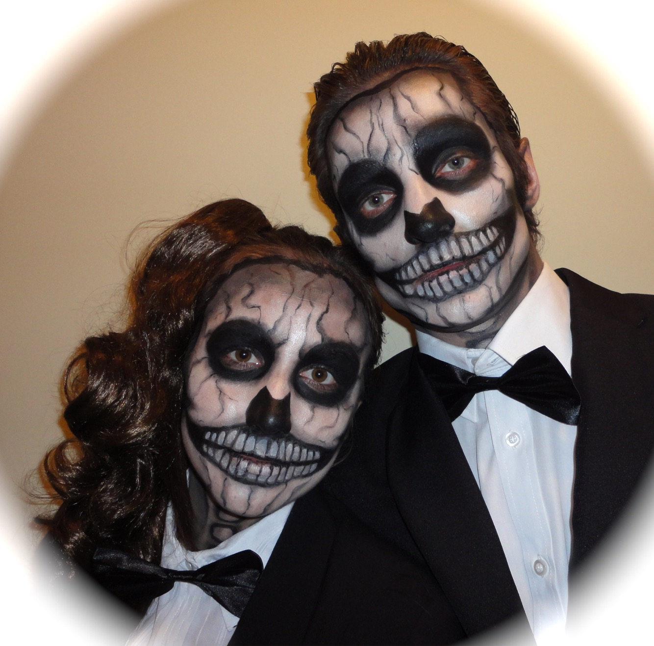 A Lady Gaga Halloween! So much fun painting this couple!!