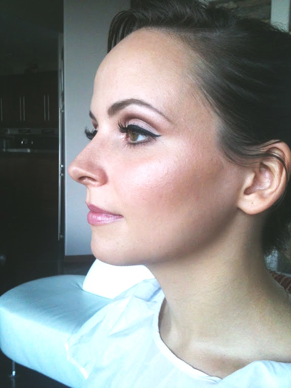 trial bridal makeup…a couple of months before her big day. We were thrilled with the results!!