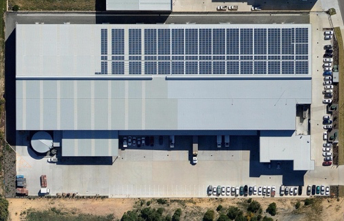 60kW system at a food factory - The project involved a site feasibility study, analysis, modelling and solar PV system design prior to installation and commissioning of the a 60kW rooftop solar PV system.Location: Bibra Lake, Western Australia
