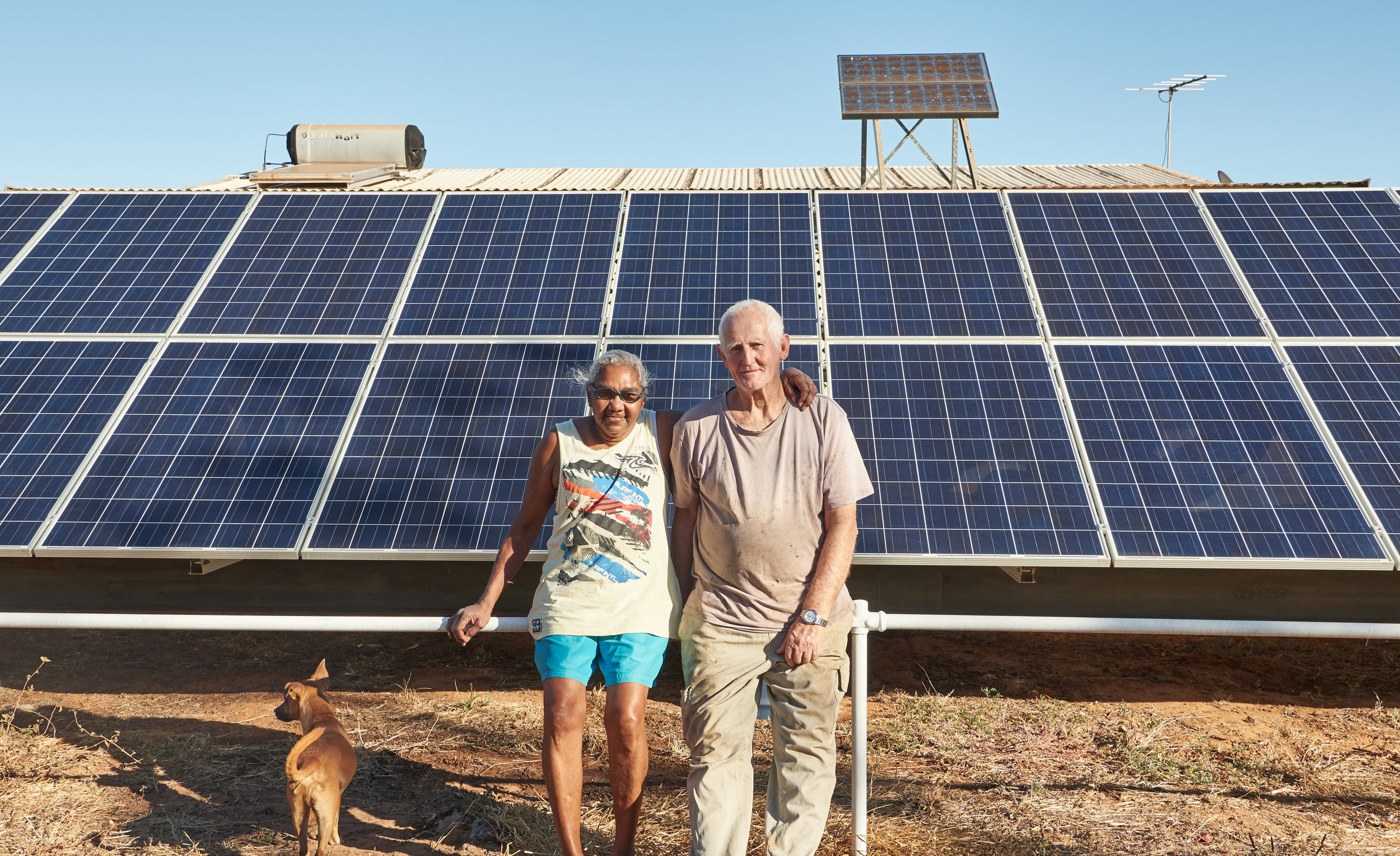 Outstations in the Kimberley can rely on solar to power all plant and machinery -