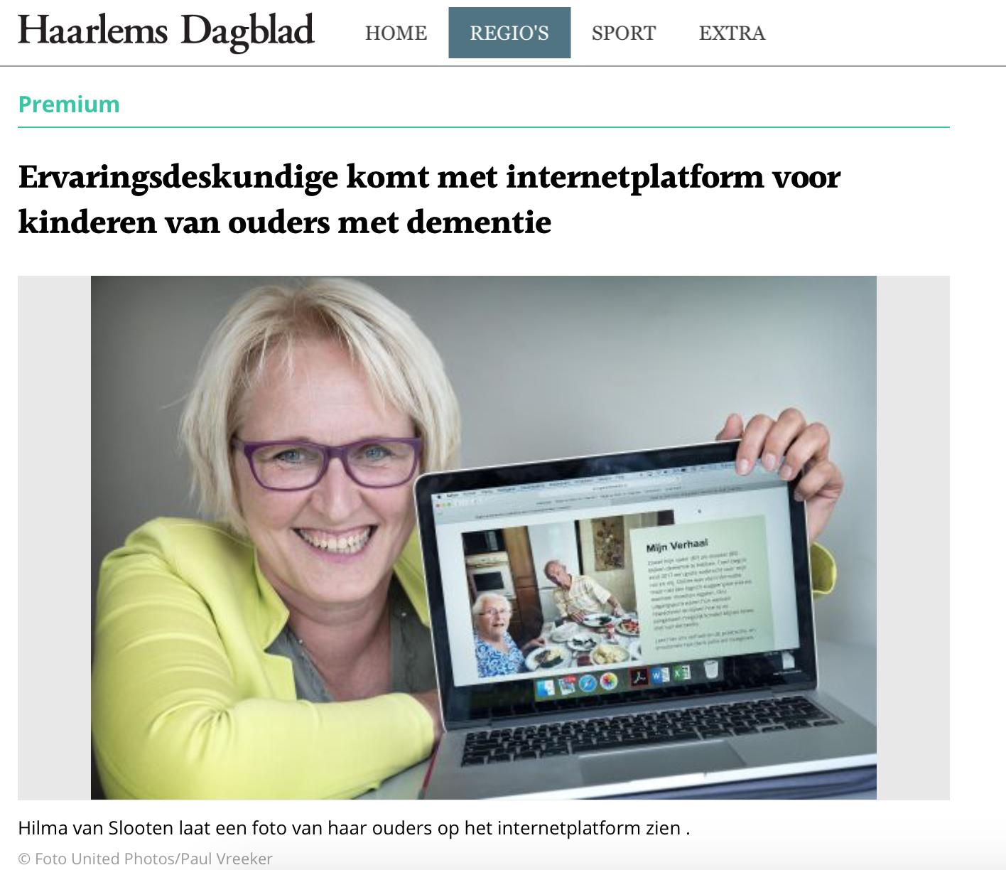 Haarlems dagblad21 september 2019 -