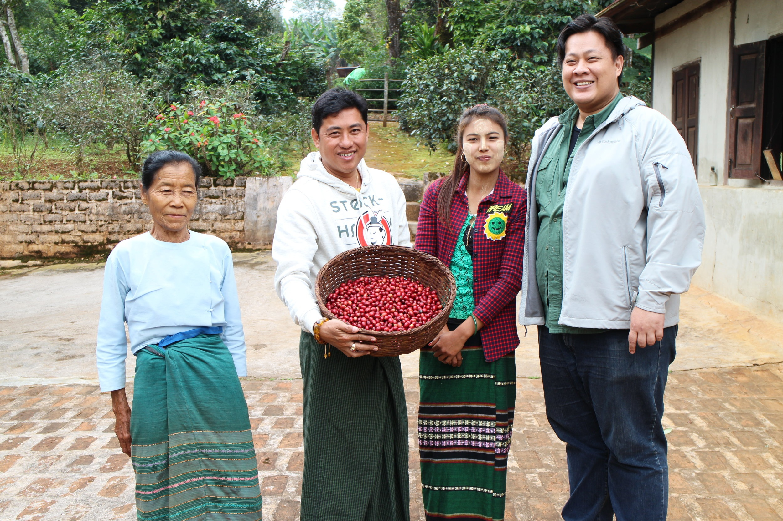 Genius Shan Highlands Coffee - Genius Coffee is an award-winning social enterprise which sources its coffee from over 100 farmers in Myanmar's Southern Shan State. Genius contributes to local education, healthcare, and forestry initiatives, and is focused on roasting and distributing coffee nationwide and abroad.