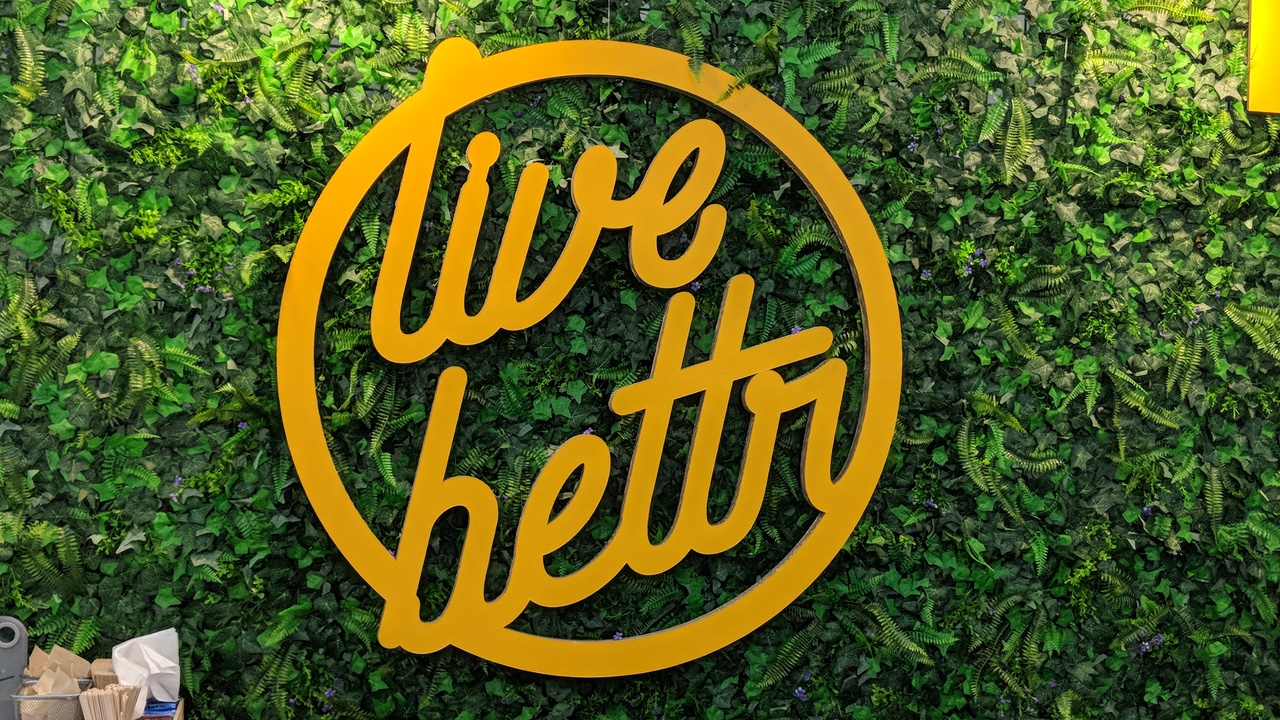 Our motto: Live Bettr.