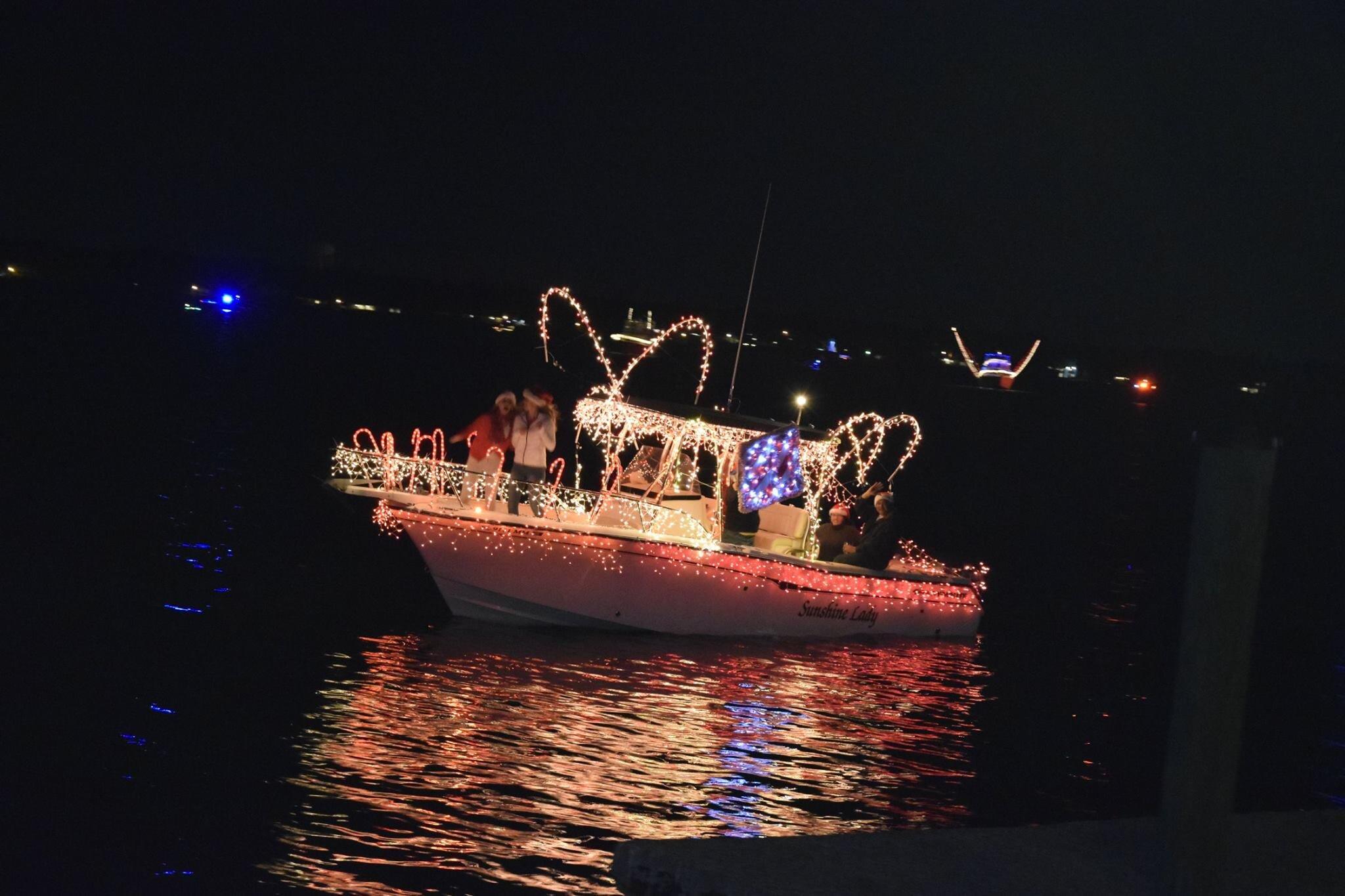 Dog River Christmas Boat Parade 2021 Holiday Boat Parade