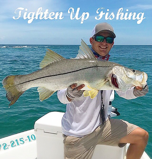 Captain Jessie Berry - Jump aboard with Captain Berry to build memories that are sure to never be forgotten! Explore a variety of locations from grass beds to weed lines on Florida`s famous Treasure Coast. Whether you are looking for dinner, or to hunt the game fish of your dreams, Captain Berry will get you Tightened Up.(772) 215-1076https://www.facebook.com/TightenUpFishin/www.TightenUpTC.comtightenupfishingcharters@gmail.com