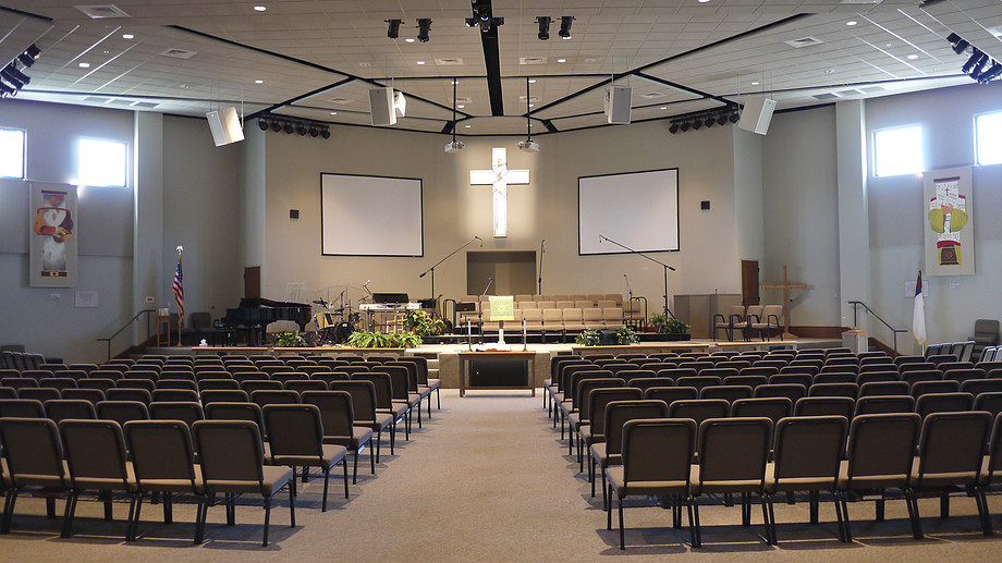 Worship Center - This is where our Sunday morning services are held.
