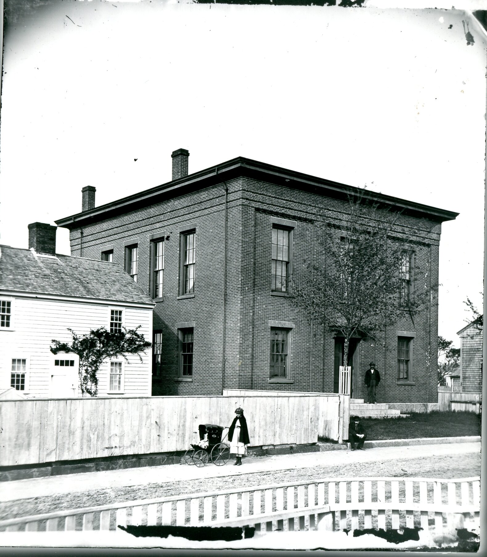 """Courthouse and """"Old Jail"""""""