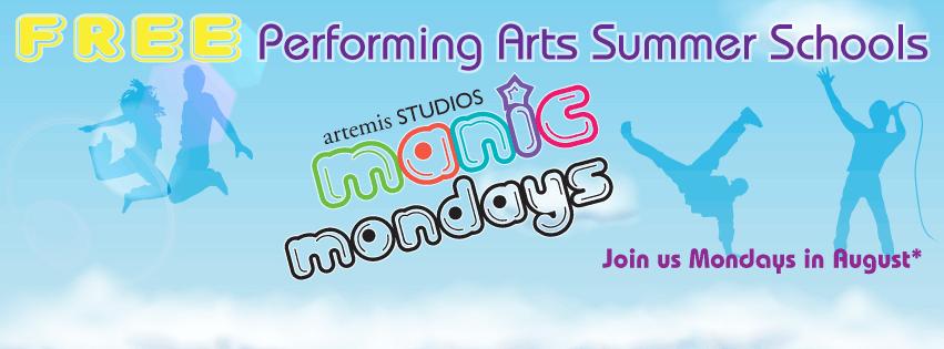 Manic Mondays banner