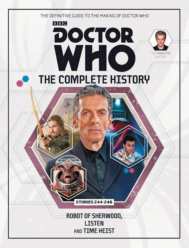 Doctor Who The Complete History - Stories 244-246