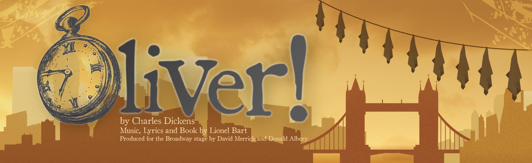 Oliver! show banner