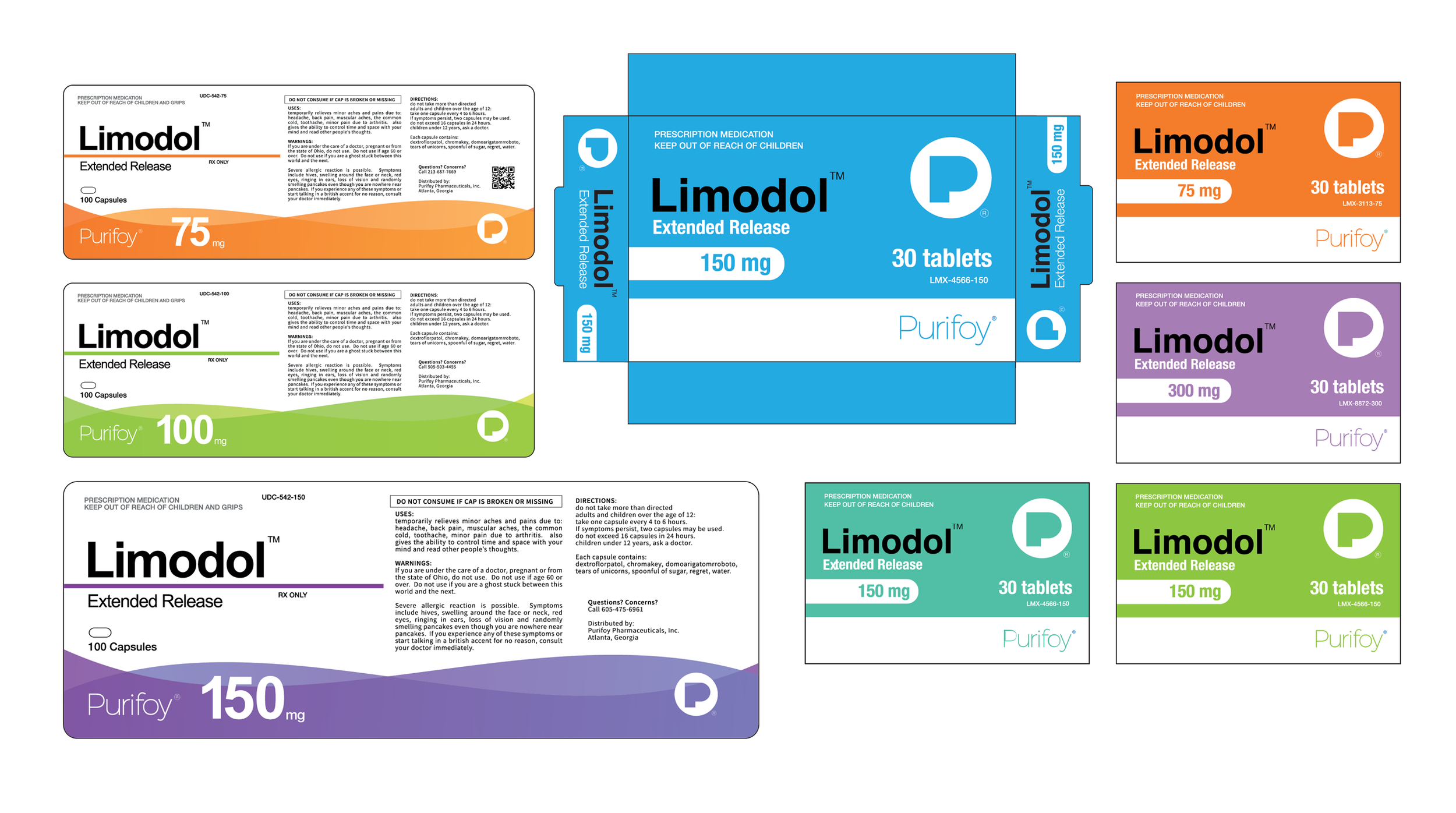 Pharmaceutical Packaging - Ambitions, Season 1 (OWN)