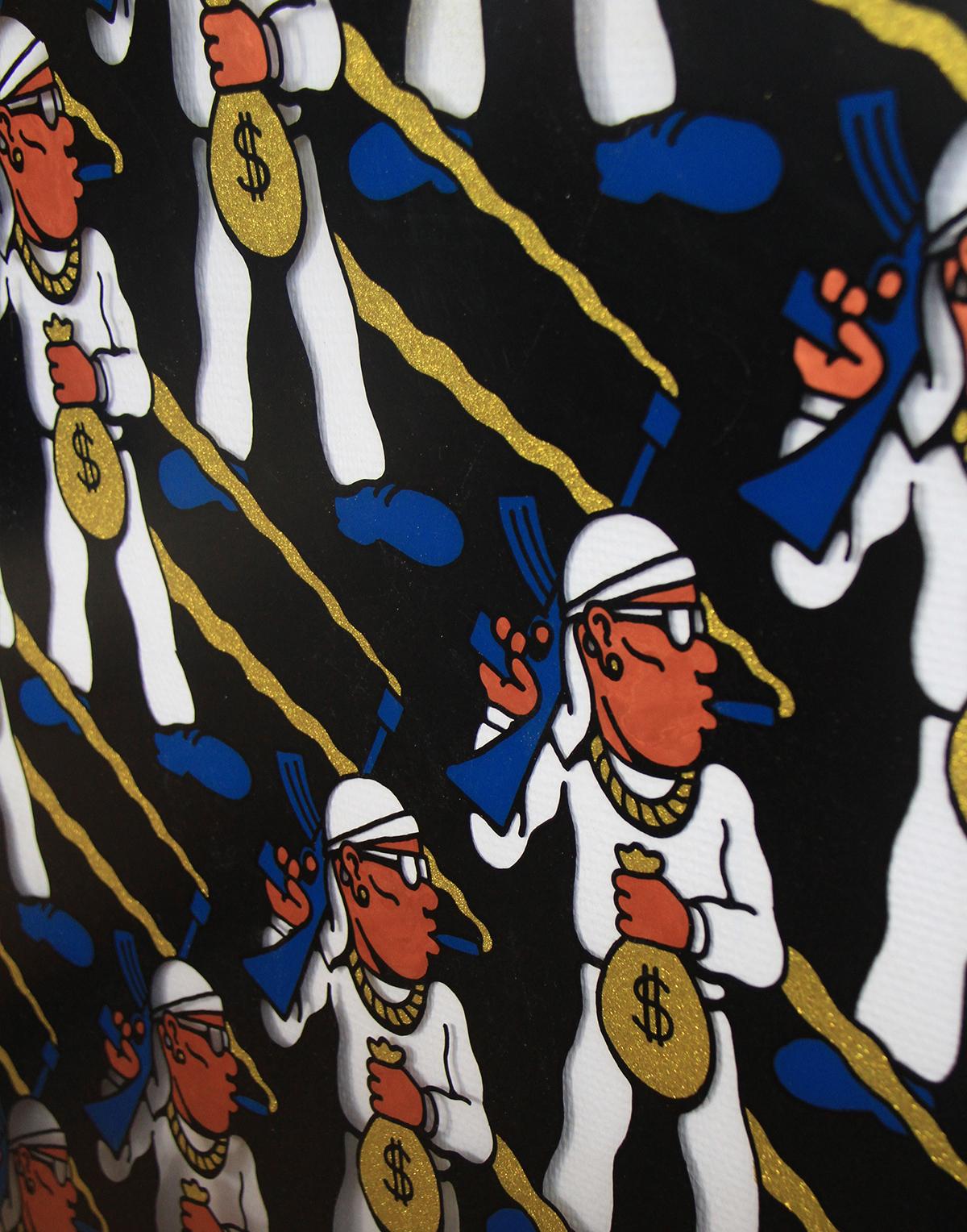 Gangster Pattern