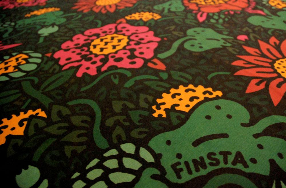 Finsta Fabric
