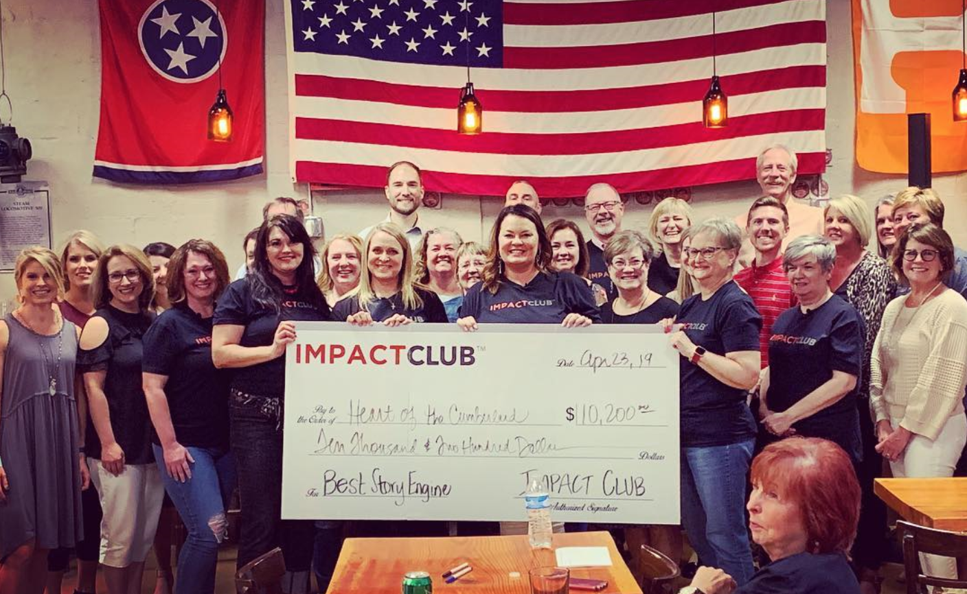 Pictured are IMPACT Club members and Monica Walker, Journey of Hope TN Advisory Committee member