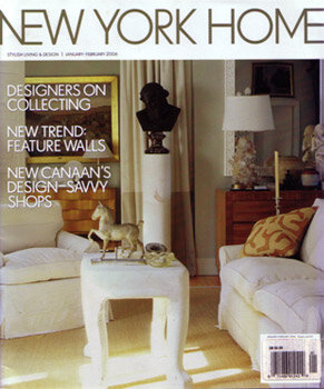 NEW YORK HOME - BETWEEN FRIENDS - Designer Colleen Bashaw creates a comfortable backdrop for a busy family.