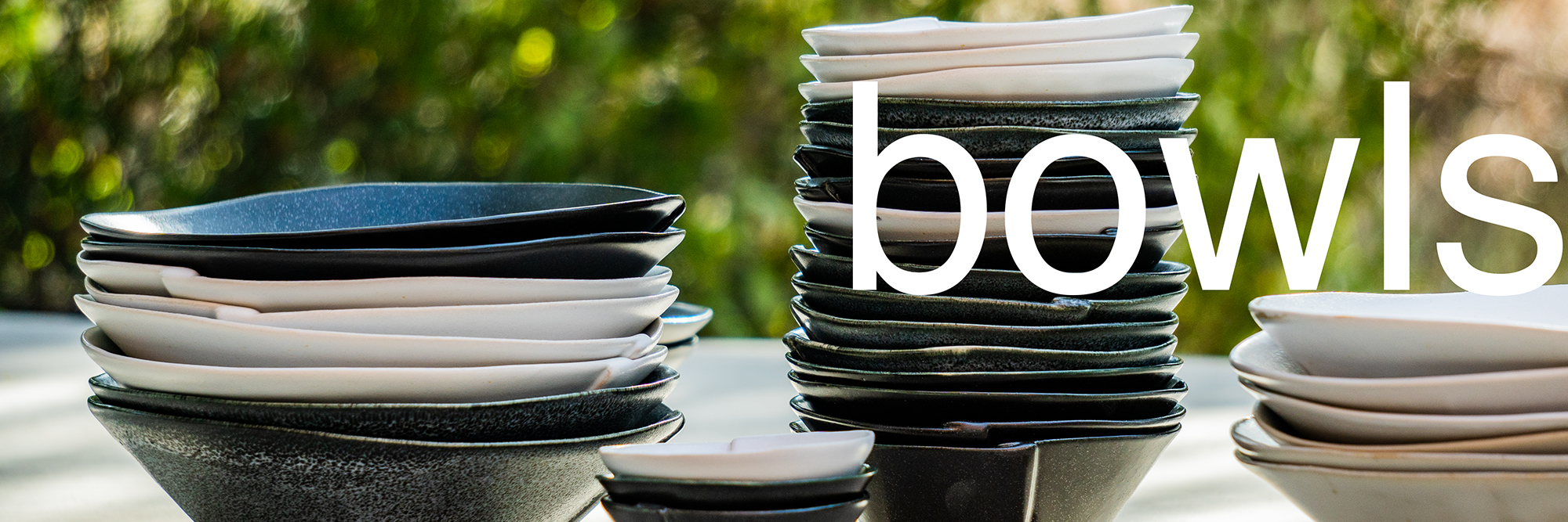 if pottery / bowls