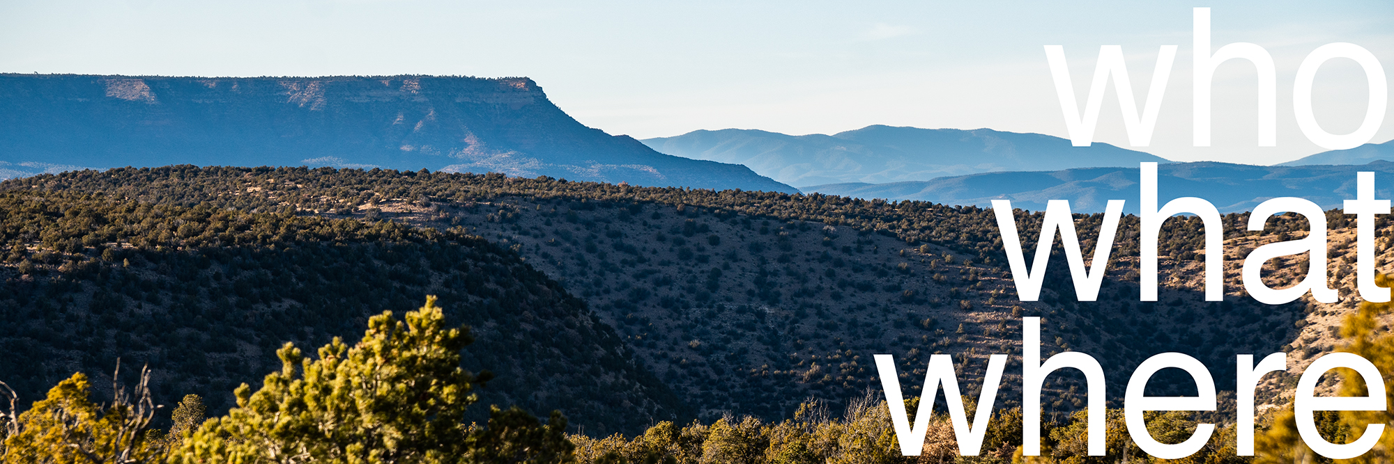 if pottery / who what where / high mesa view from the studio