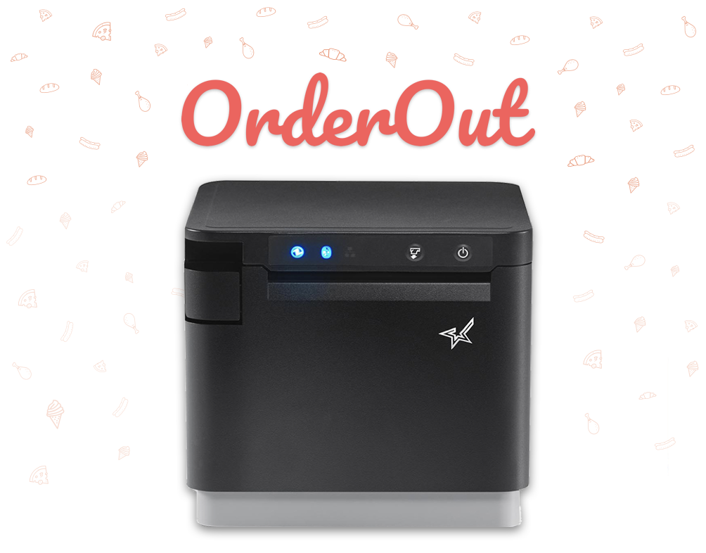 Integrated Kitchen Printer - The OrderOut Integrated Kitchen Printer sends all your third party food delivery orders directly to one kitchen printer.