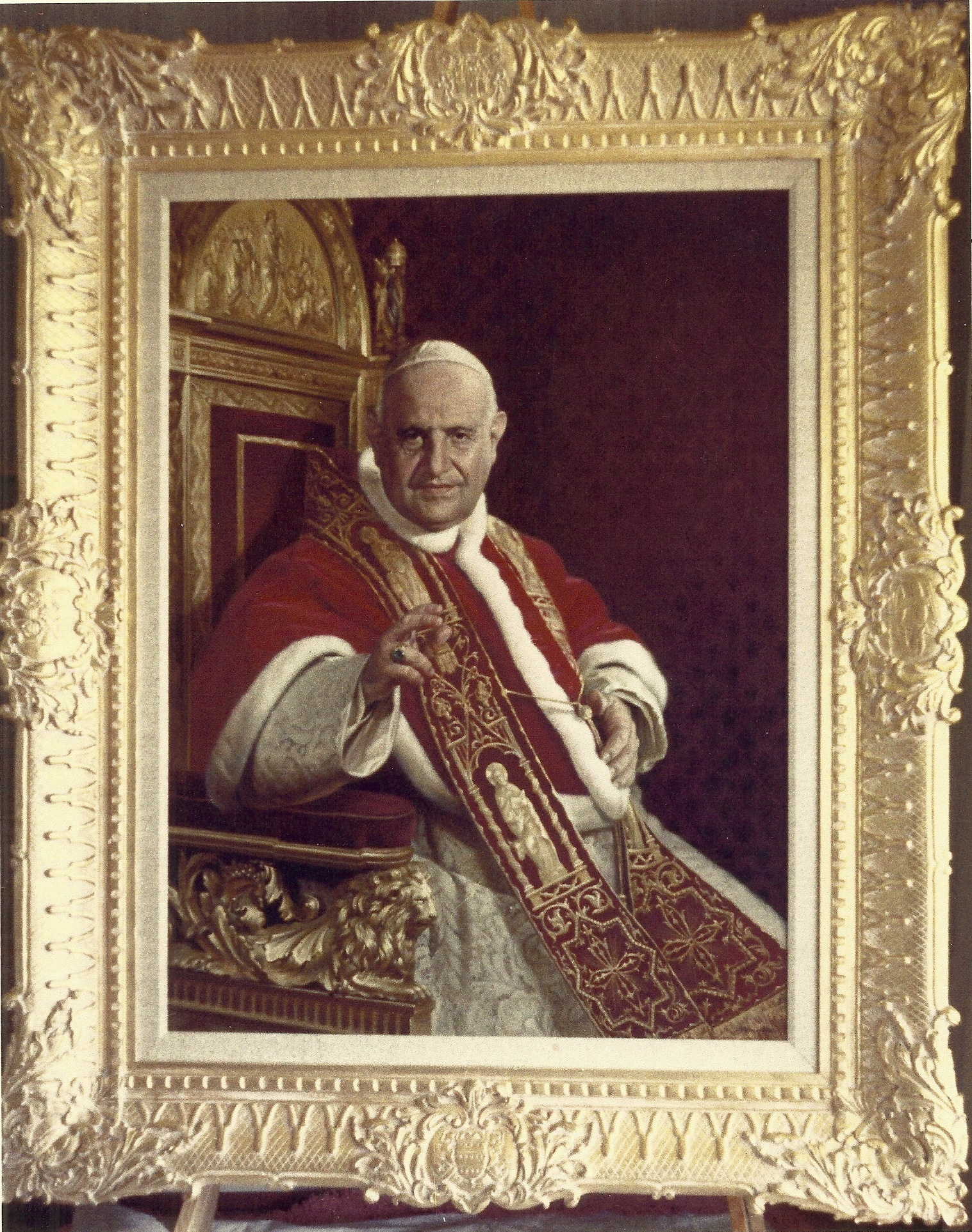 Portrait of Pope John XXIII By Angelo Lanzini, Vatican Museum