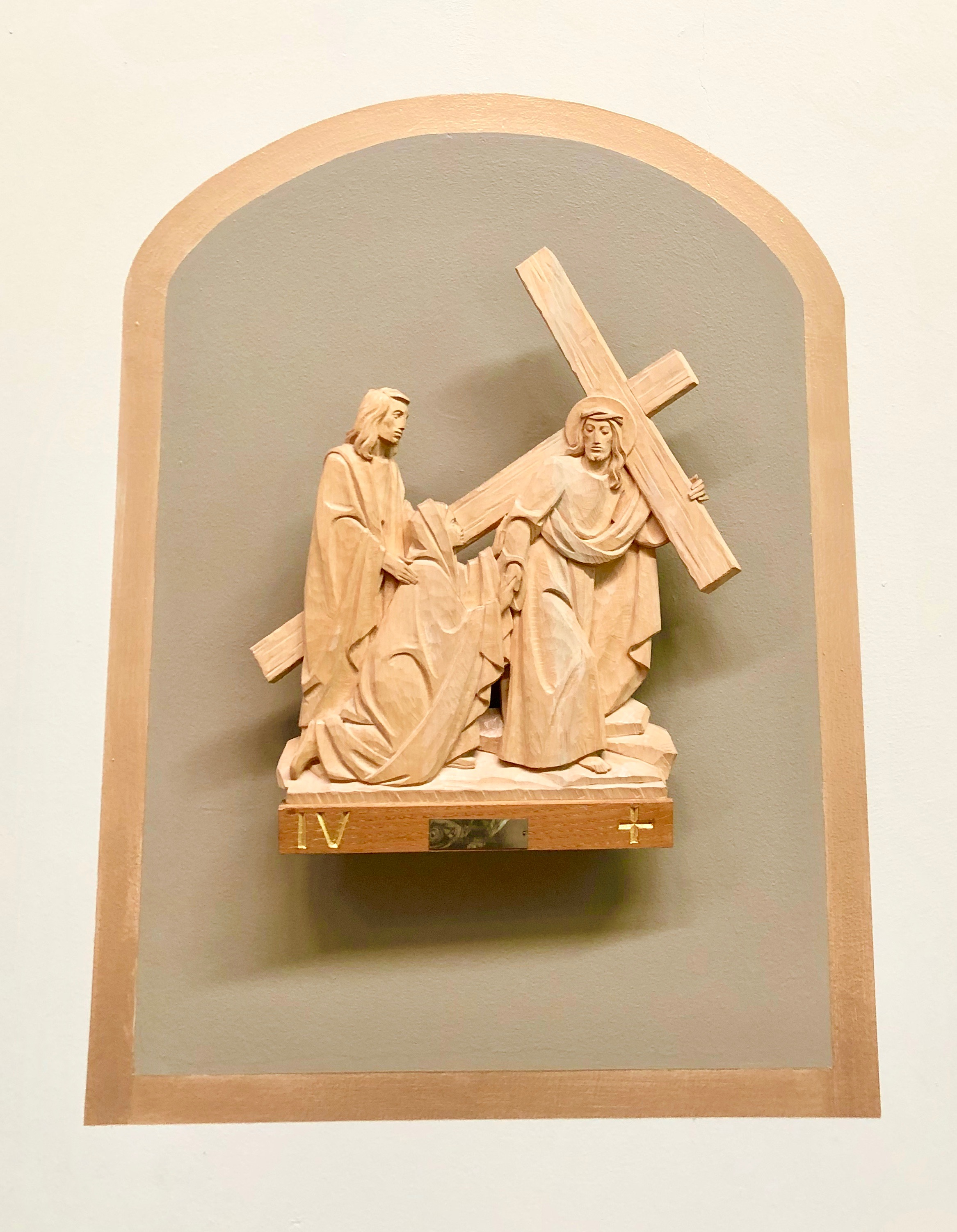 Wood Station of the Cross, Jesus Cruifixion, St Joseph's Catholic Church, Capitola, California, Lanzini.jpeg