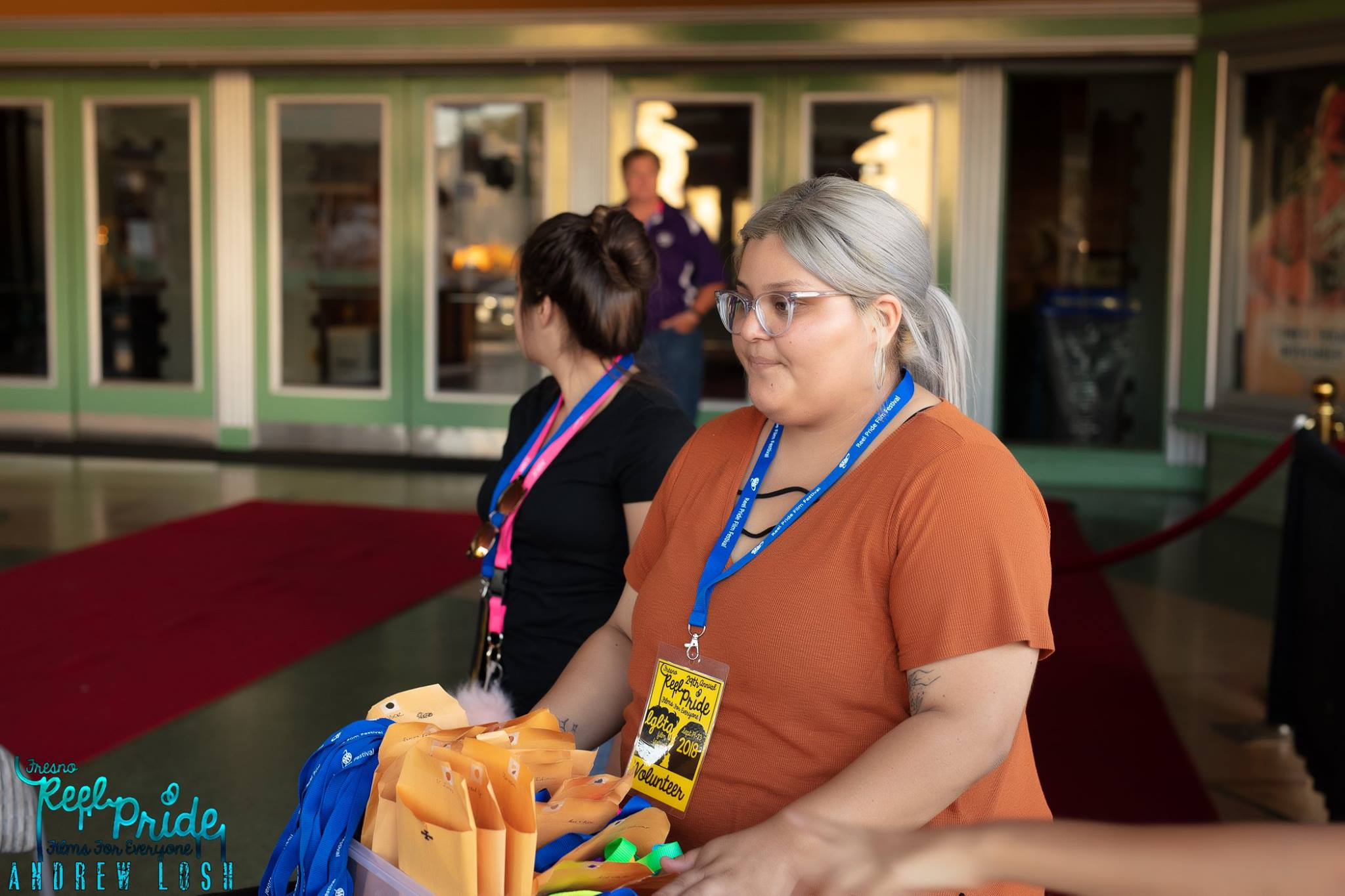 Join Us! - We're gearing up for our 30th Annual Fresno Reel Pride LGBTQ Film Festival and we need your help to make sure it's a success! Join us as a volunteer during our five-day film festival.