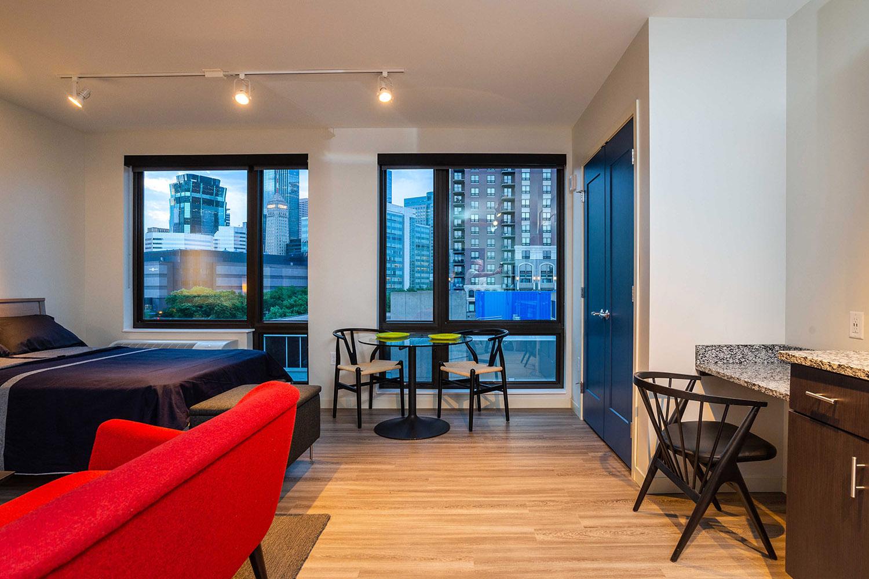 Carlsen and Frank Architects, Aberdeen Apartments, Elliot ...