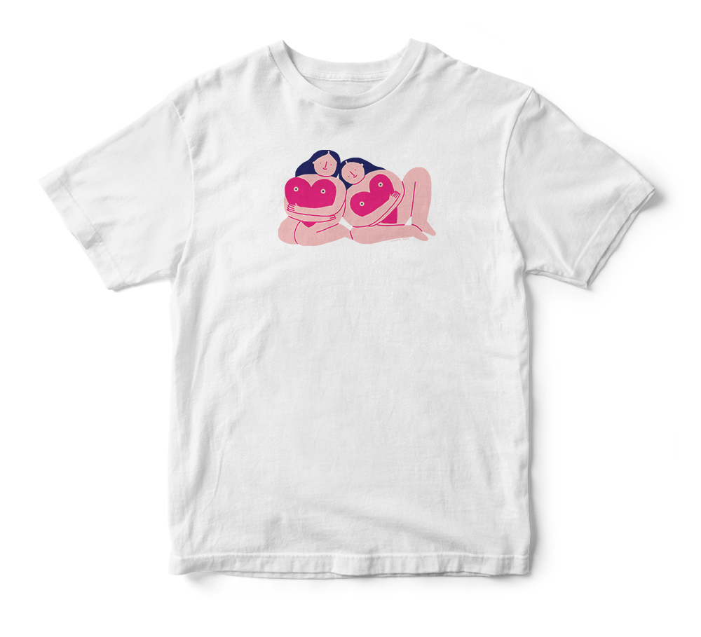 Coppafeel Breast Awareness T-shirt Design