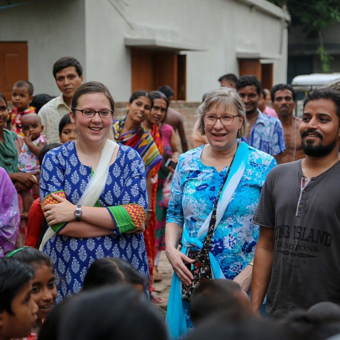 Project india - We have partnered with a missions group in India.