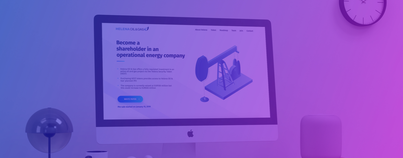Helena Token - Energy & Blockchain: How an existing and fully operational energy company is doing an STO…