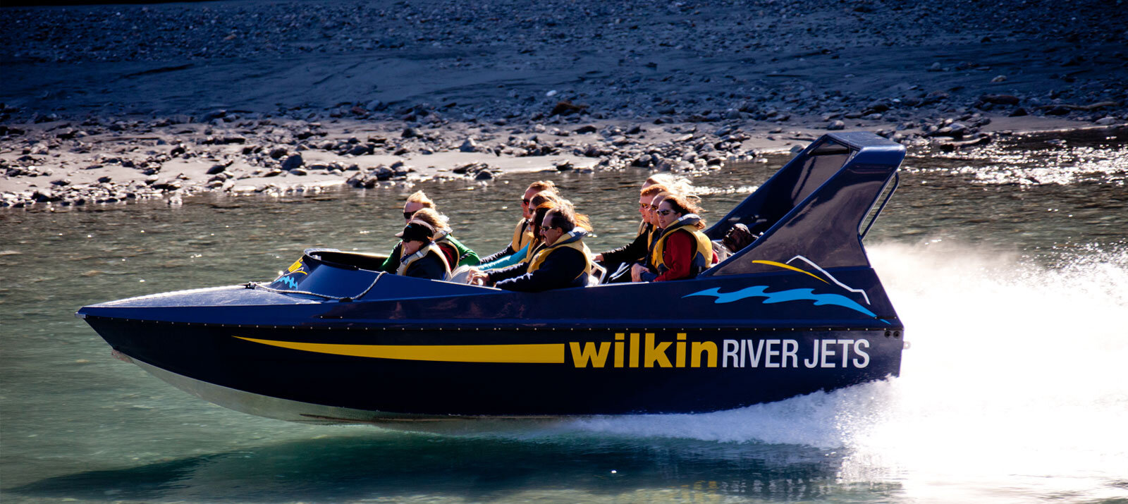 Jet boating within the World Heritage Area - Let Wilkin River Jets and Backcountry Helicopters take you on a personal wilderness journey deep into the 'timeless land' of Makarora, situated close to Wanaka New Zealand. We promise an unforgettable wilderness adventure.Experience the ultimate in shallow water jet boating, skimming along just inches of water on not one, but two rivers - the mighty Wilkin and the Makarora.