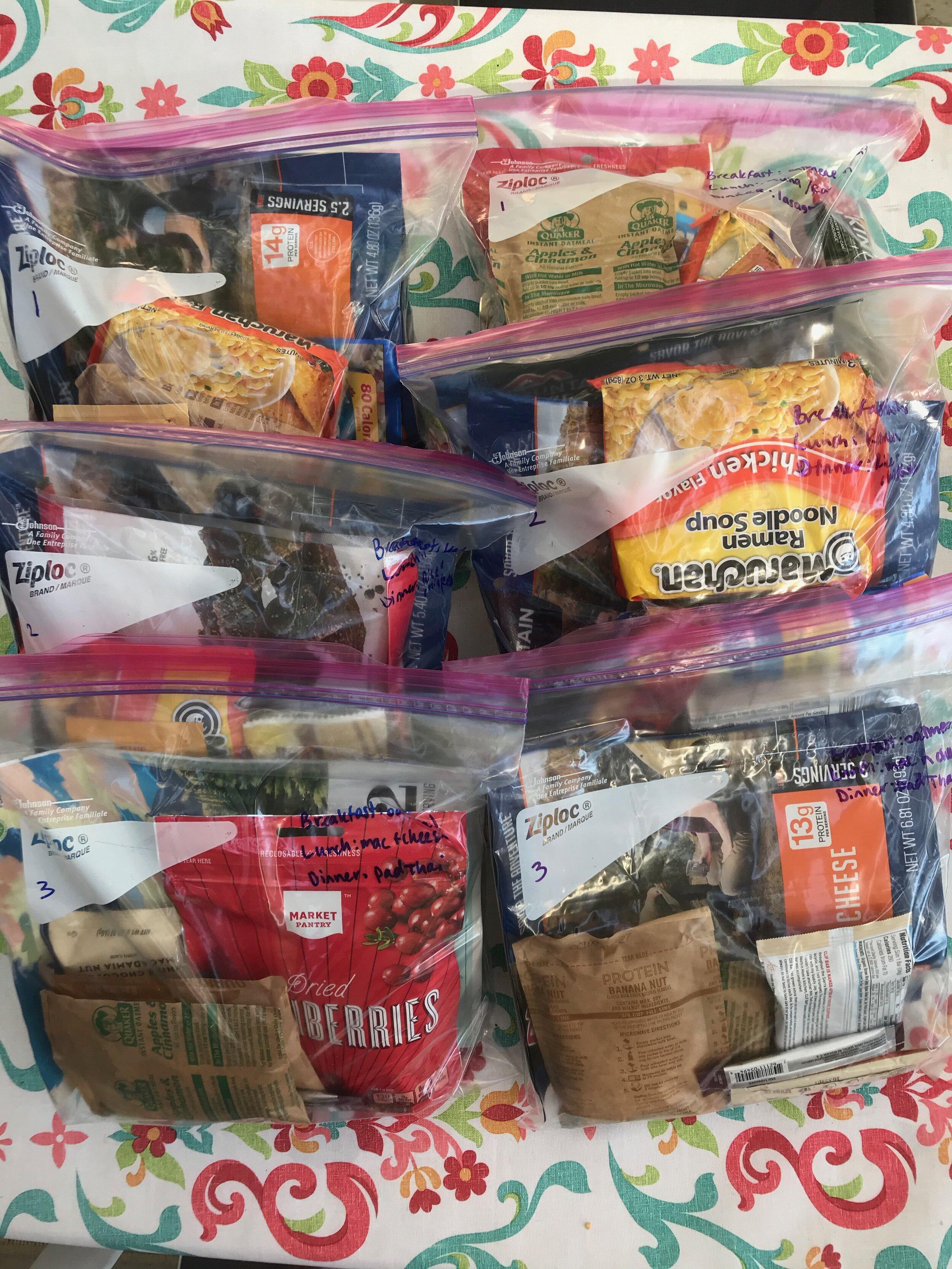 Meal packs