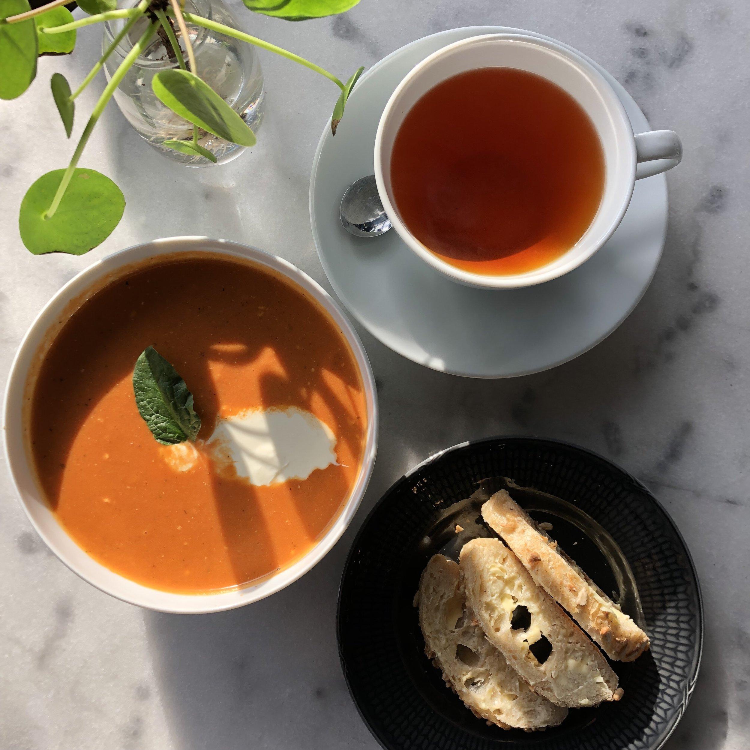 Dagens soppa från Kalf & Hansen
